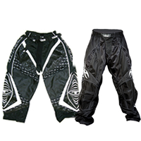 Black Roller Hockey Pants