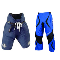 Blue Hockey Pants