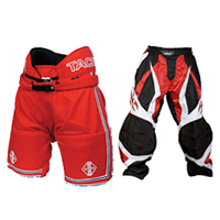Red Hockey Pants