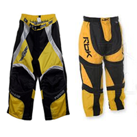Yellow Roller Hockey Pants