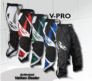 Valken V-Pro Inline Hockey Pants Sizing Chart